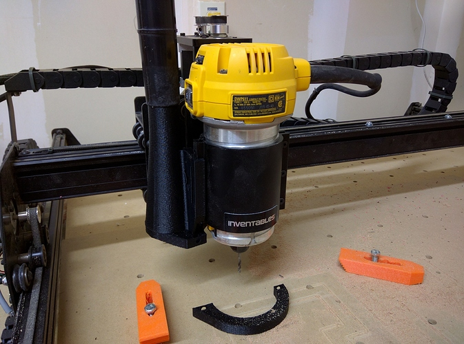 Router table for dewalt dwp611walt dwp611 compact router fixed dewalt dwp611 dust shoe projects inventables community greentooth Choice Image