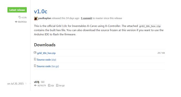 X-Controller hex file - Updates - Inventables Community Forum