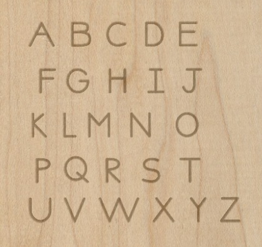 Single Path Alphabet - Projects - Inventables Community Forum