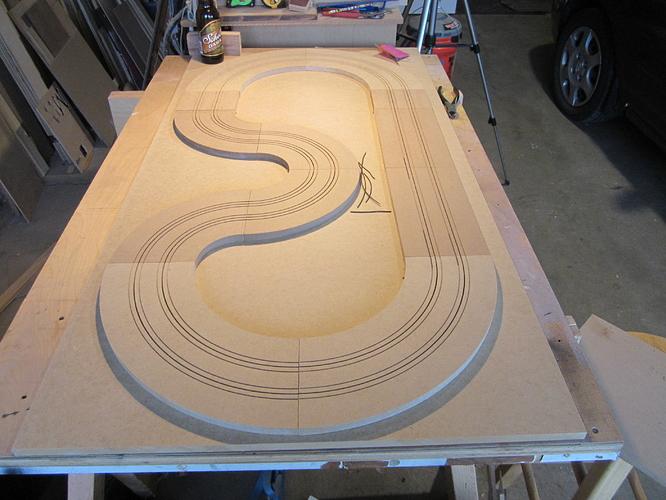 gentlemen start your engines ho slot car track build. Black Bedroom Furniture Sets. Home Design Ideas