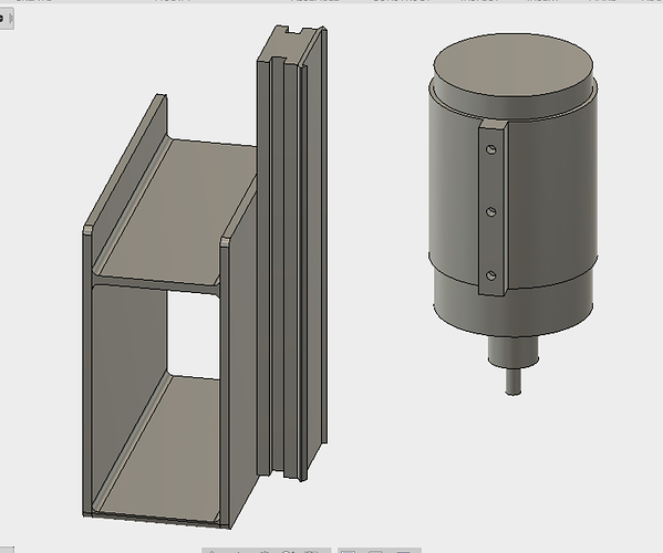 DeWalt 611 Mount + Z-Carriage Models - Parts & Files
