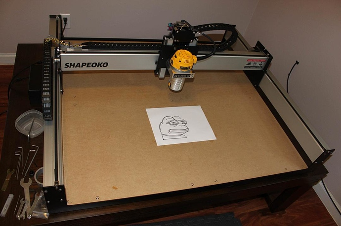 FS: Shapeoko 3 XXL w/DeWALT Router - For Sale and Trade