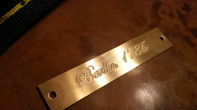 What bits to use to engrave on brass? - Inventables Community Forum