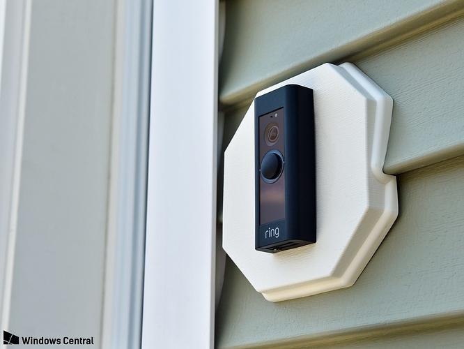 Ring Doorbell flush mount for siding - Inventables Community