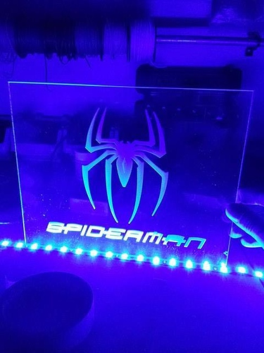 Edge Lit LED Sign! - Projects - Inventables Community Forum