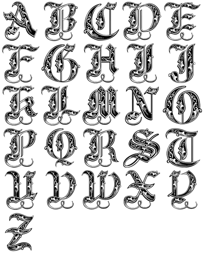 Monogram alphabet collection for carving png dxf ai projects monogram alphabet collection for carving png dxf ai thecheapjerseys Image collections