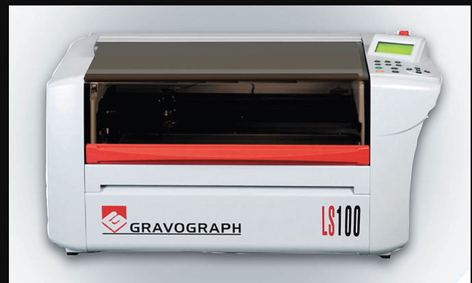 Gravograph Ls100 Commercial Laser Engraver For Sale 5500