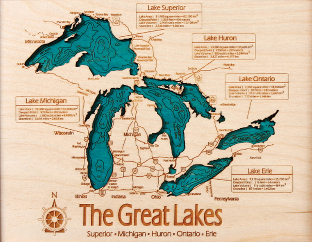 Ontario Topographic Map.Simple Topo Map Projects Inventables Community Forum