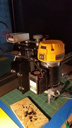 15w Laser mount models for X-Carve on Thingiverse - Laser
