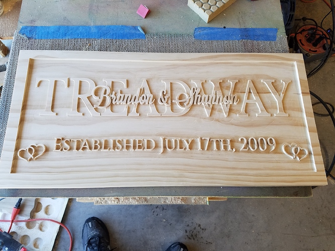 First Multi Layer Text Sign Projects Inventables