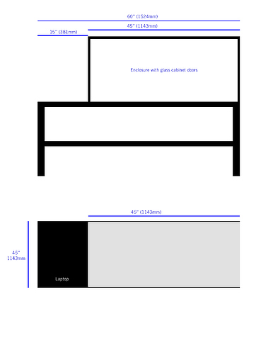 Magnificent Good Workbench Size For 1000 X Carve Inventables Onthecornerstone Fun Painted Chair Ideas Images Onthecornerstoneorg