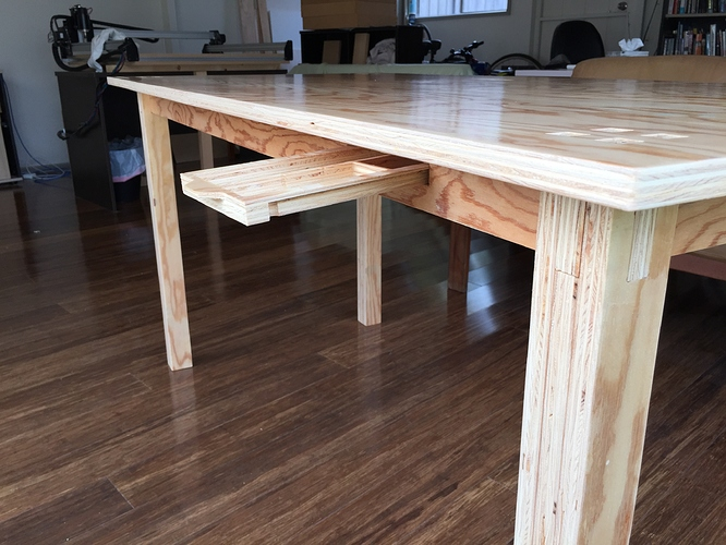 Open Desk layout table build - Projects - Inventables