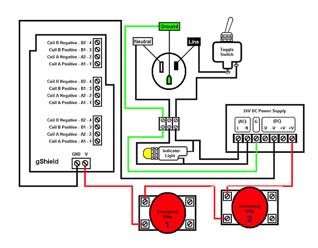 connecting e stop to system inventables community forum rh discuss inventables com E Stop Normally Closed Schematic Push Button Switch Diagram