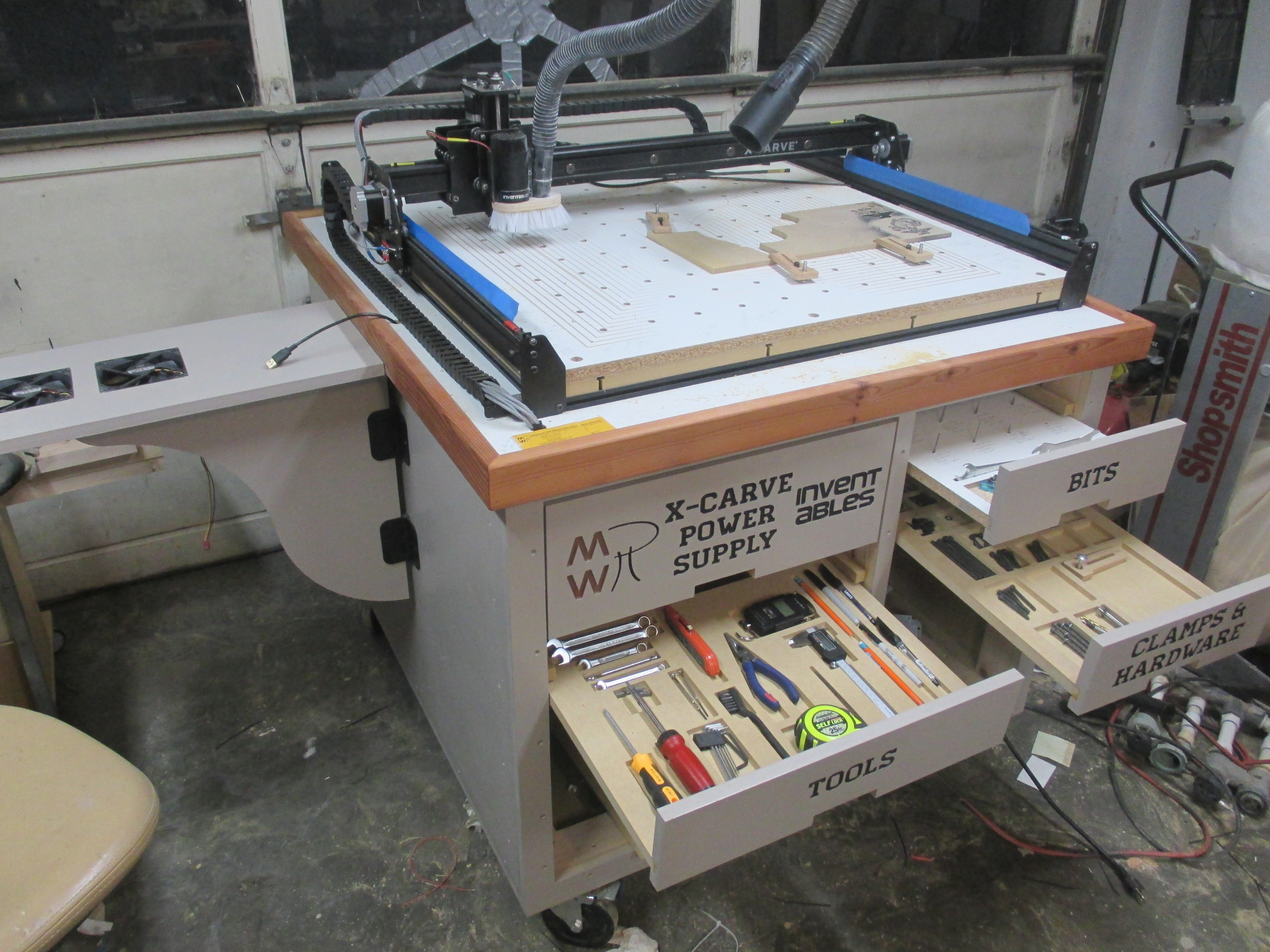 Size for carve bench inventables community forum