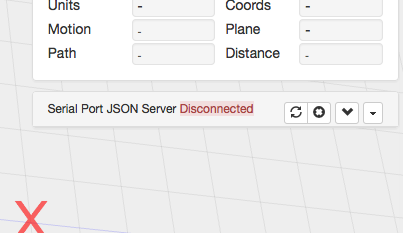 when i try refreshing the json i get errors saying something like not connected to the serial port on the json server i dont see any sort of a download