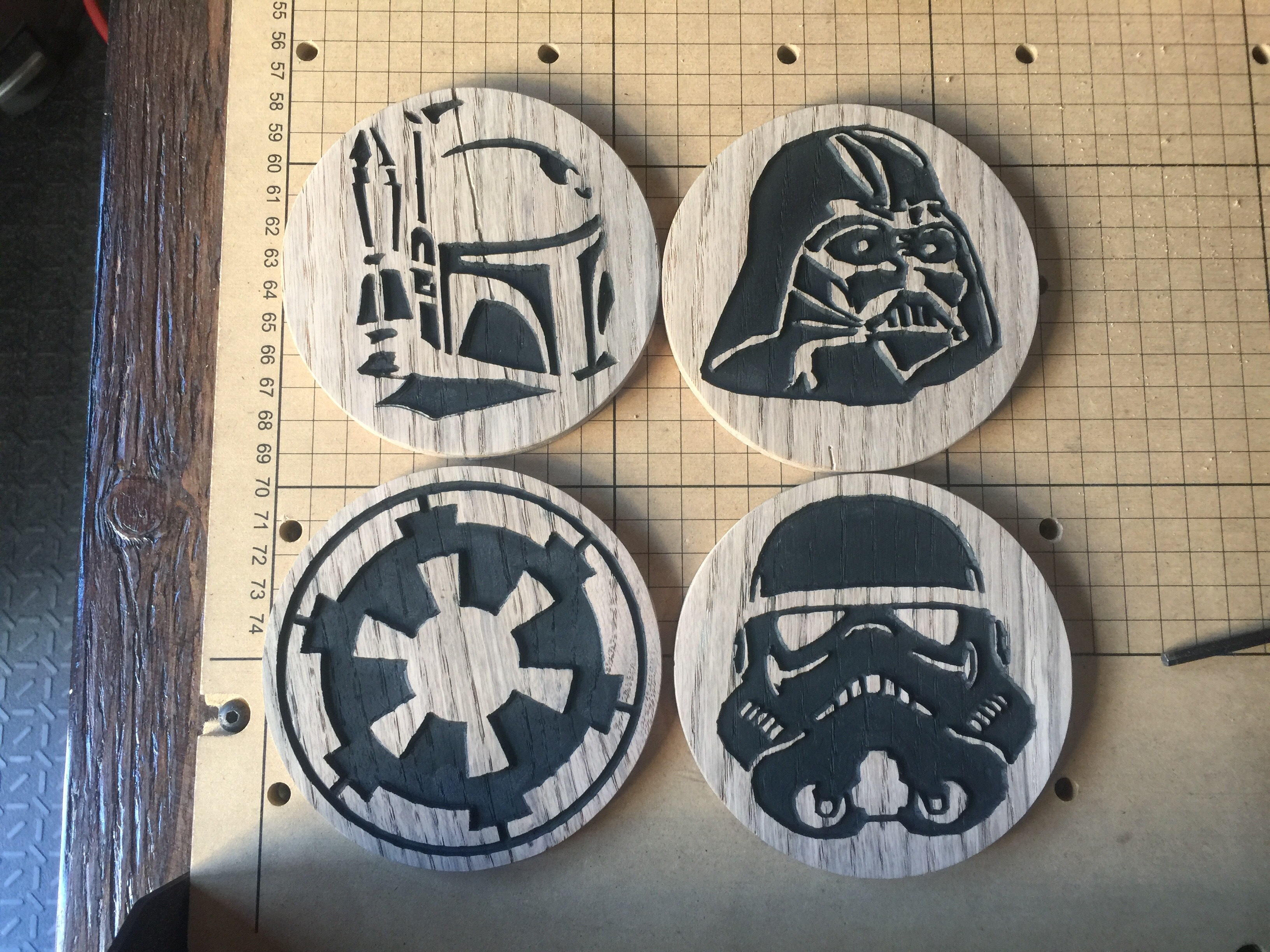 Star Wars Coasters · Projects