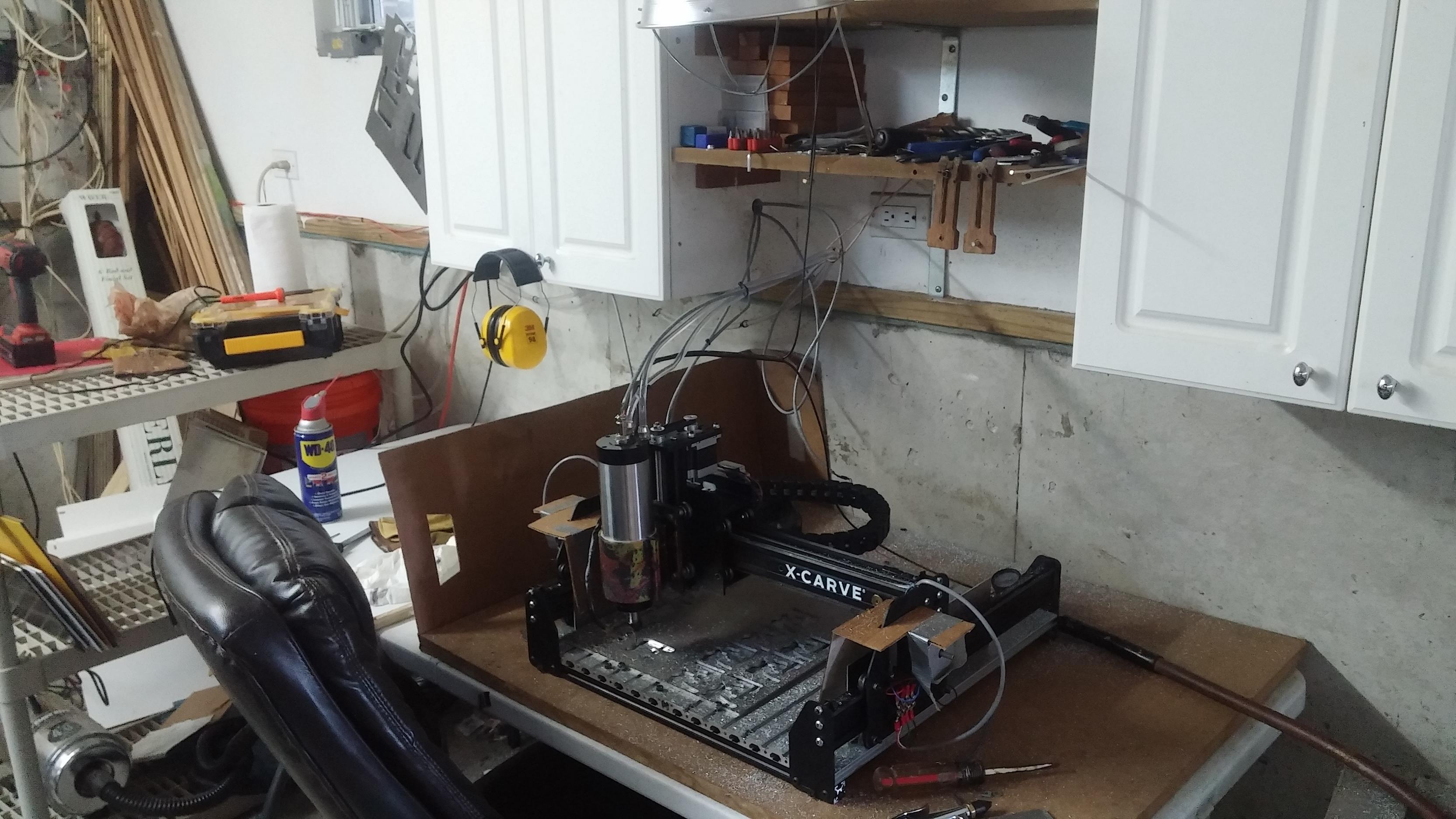 Resolved] Spindle noise making stepper motors lose steps