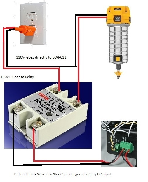wiring a solid state relay upgrades inventables community forum Car Amplifier Install Diagram solid state amp wiring diagram