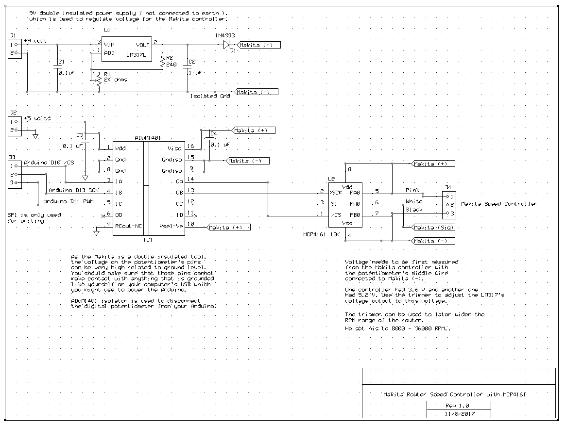Makita Rt0701c G Code Control Of Spindle Speed Project Upgrades Circuit Schematic Diagram Fan I Converted Your To My Program And Did A Board Layout Just For Fun Havent Done Anything With It Yet Im Not Sure Can Solder Soic