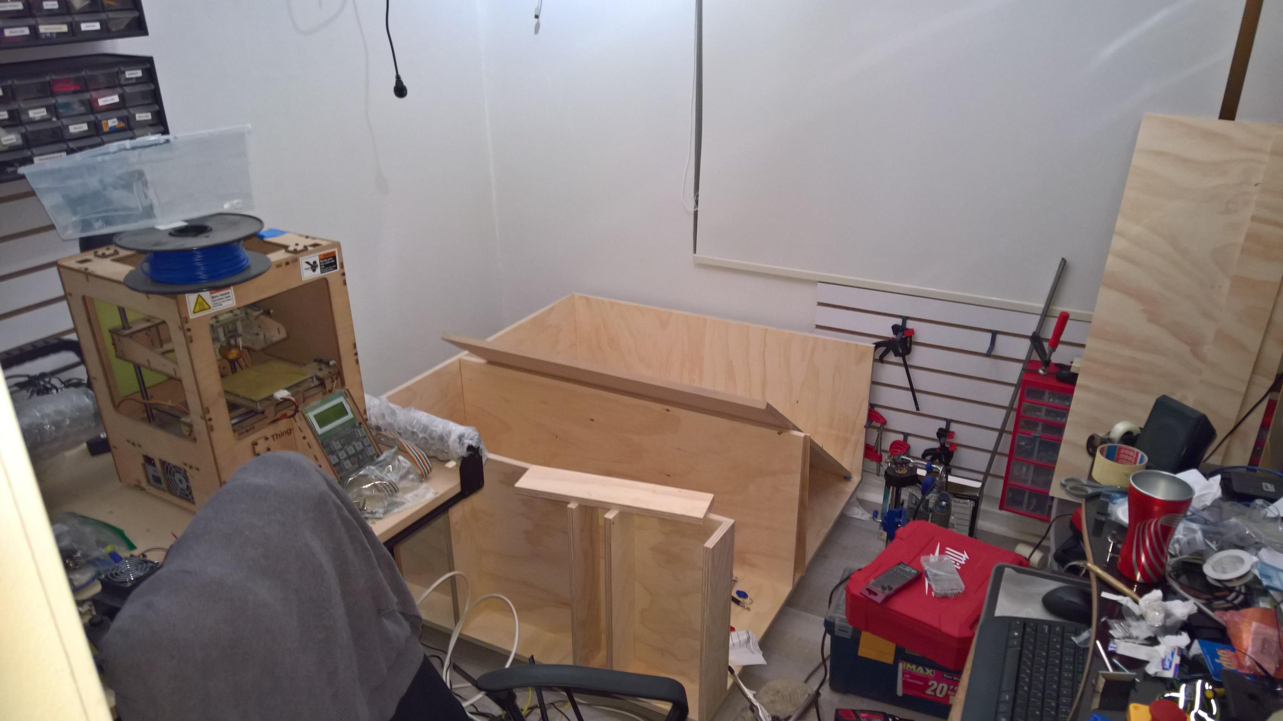 Minimum Footprint For Enclosure For X Carve 1000 X Carve