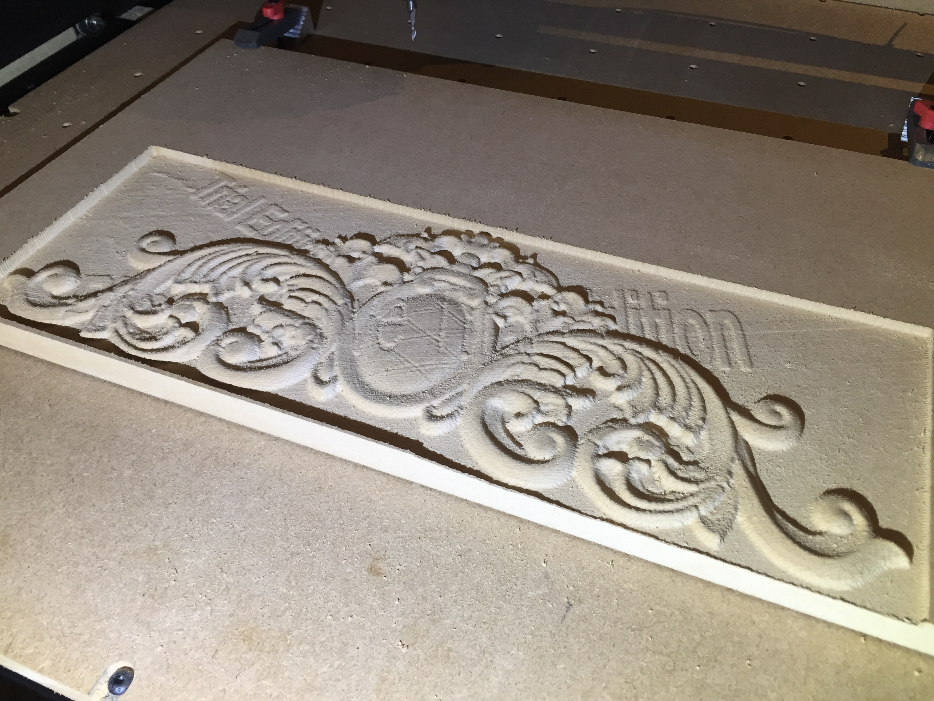 First try at d relief projects inventables community