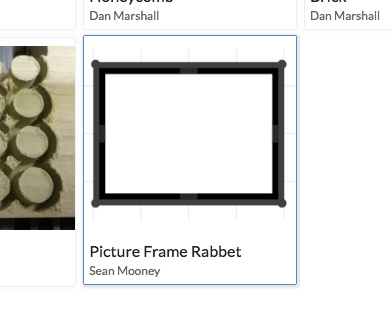 New App - Picture Frame Rabbet - Apps - Inventables Community Forum