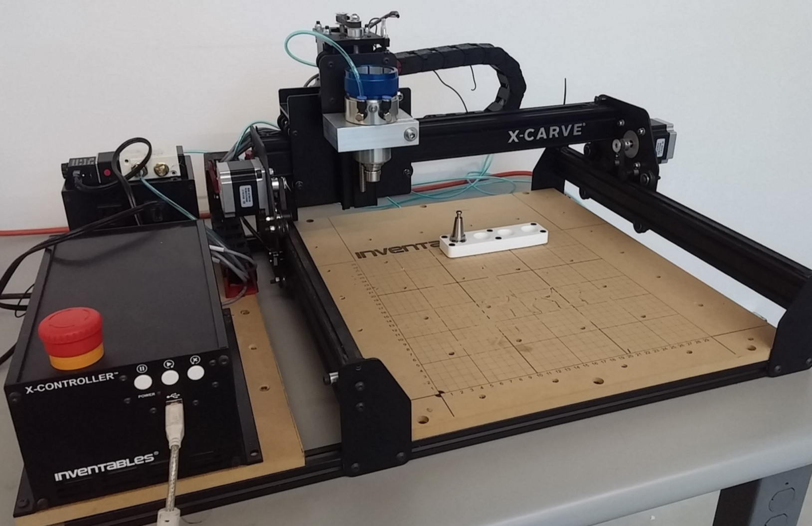 Auto Tool Changer Works Great Upgrades Inventables Community Bldc Cnc Machine Wiring Schematic A Can Really Enhance The Productivity Of Like X Carve When Doing Large Pockets With Fine Detail Quickly Clear