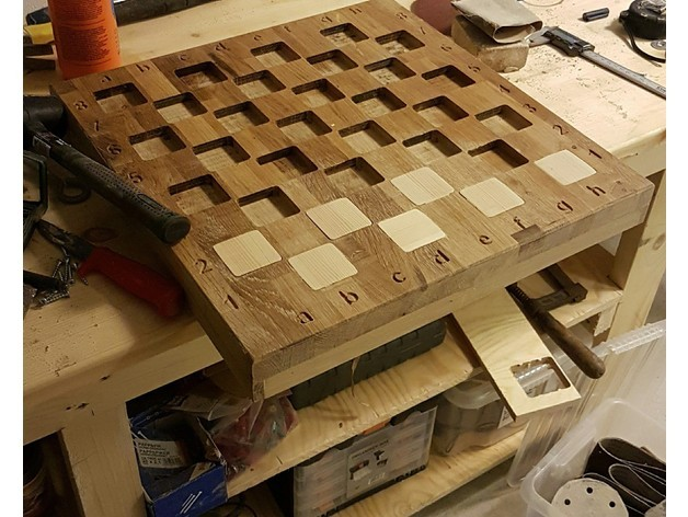 Diy Chessboard Projects Inventables Community Forum