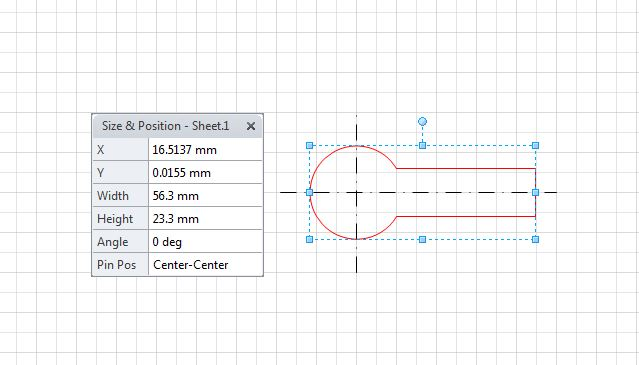 visio 2010 dxf test 1a