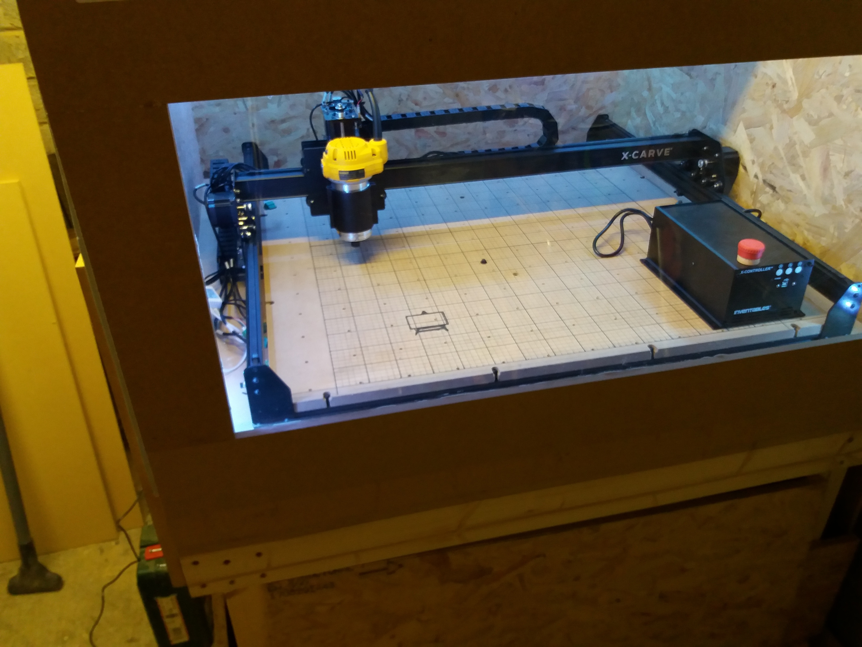 Swell Good Workbench Size For 1000 X Carve Inventables Onthecornerstone Fun Painted Chair Ideas Images Onthecornerstoneorg