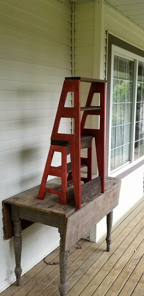 Library Ladder Chair Find Deals On Line