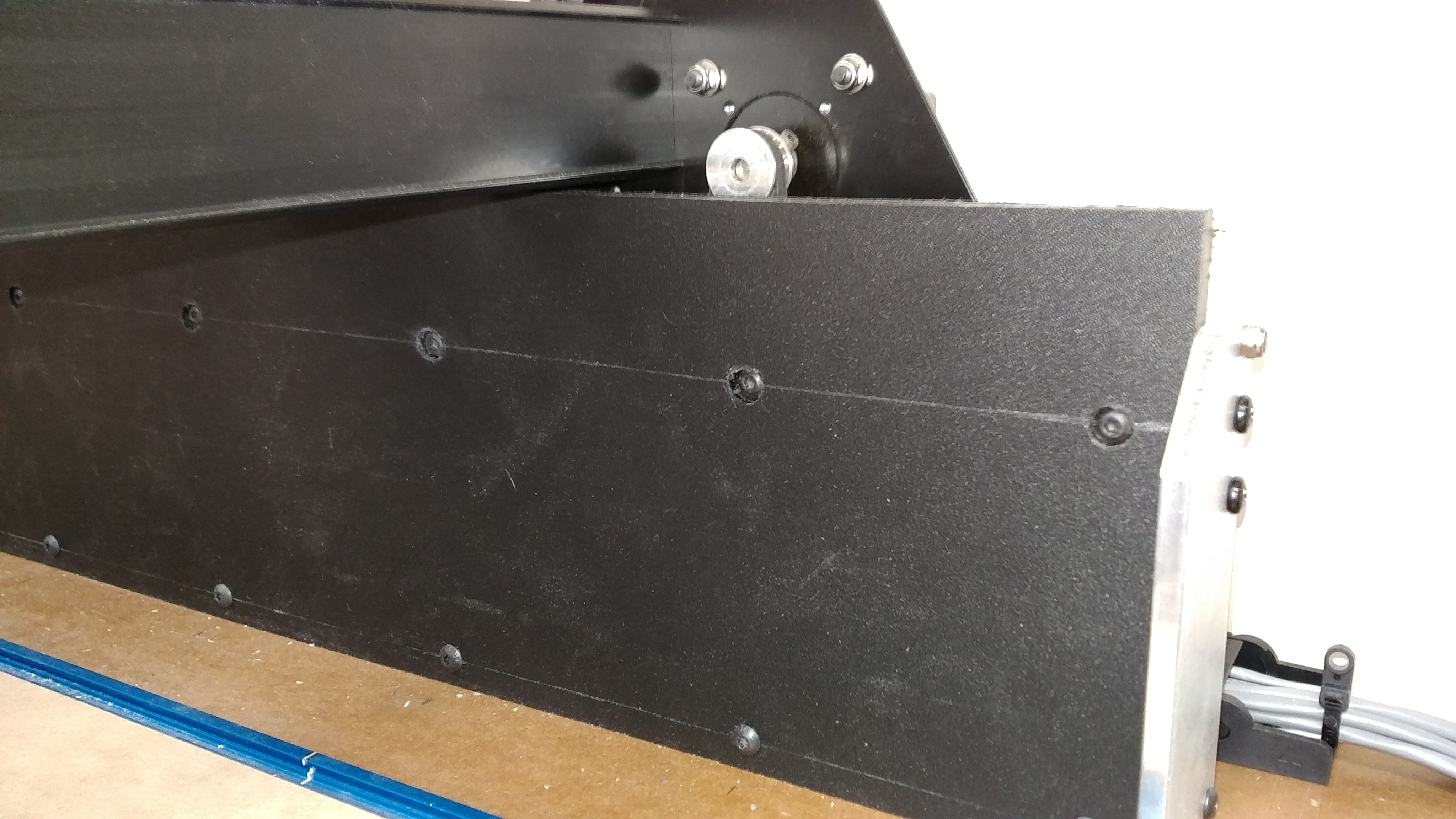 Option For Y Axis Stiffening Complete And Pleased