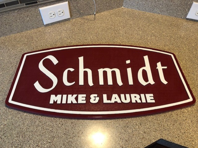 schmidt mike and laurie finished