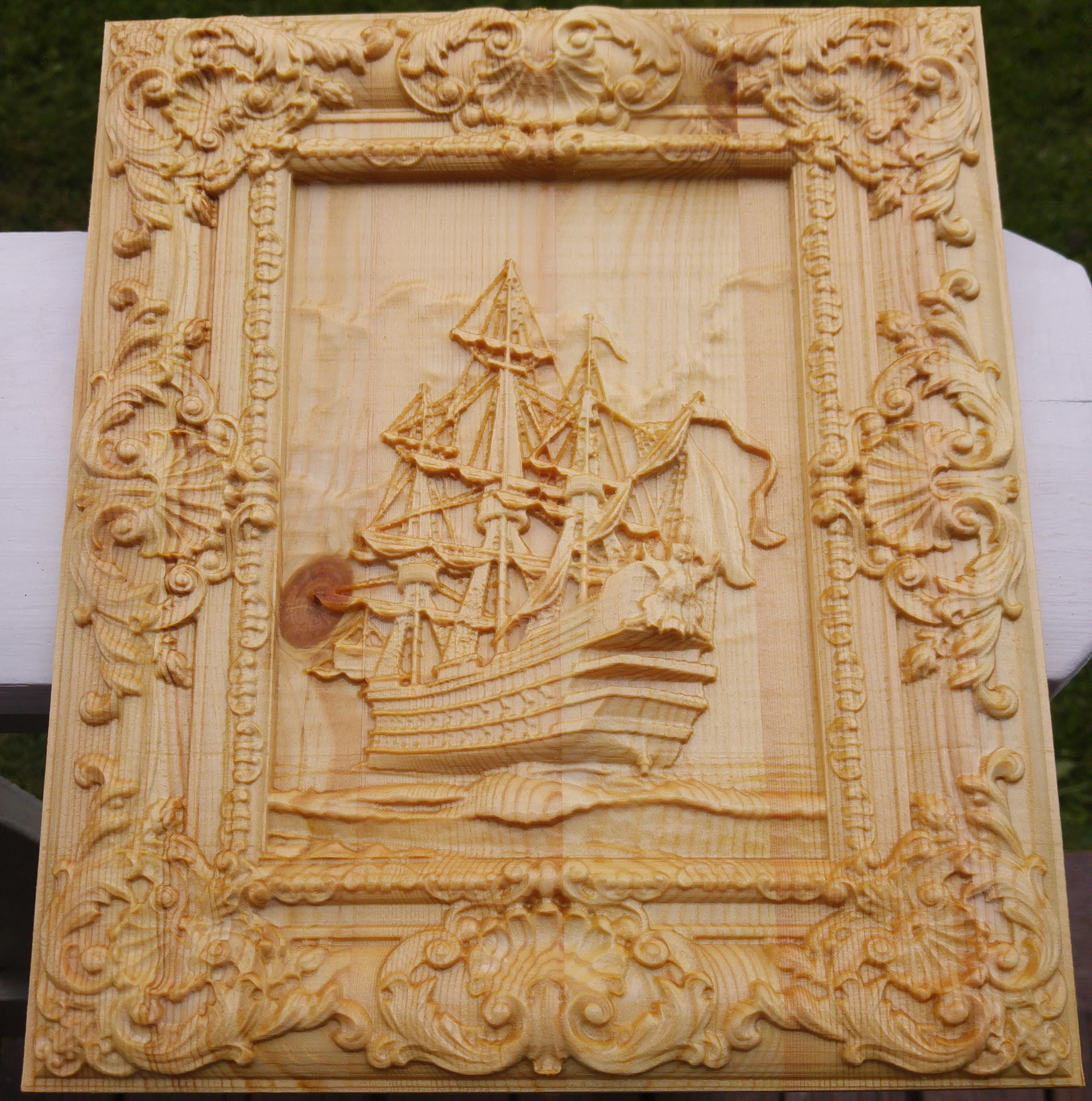 Latest attempt at relief carving projects inventables