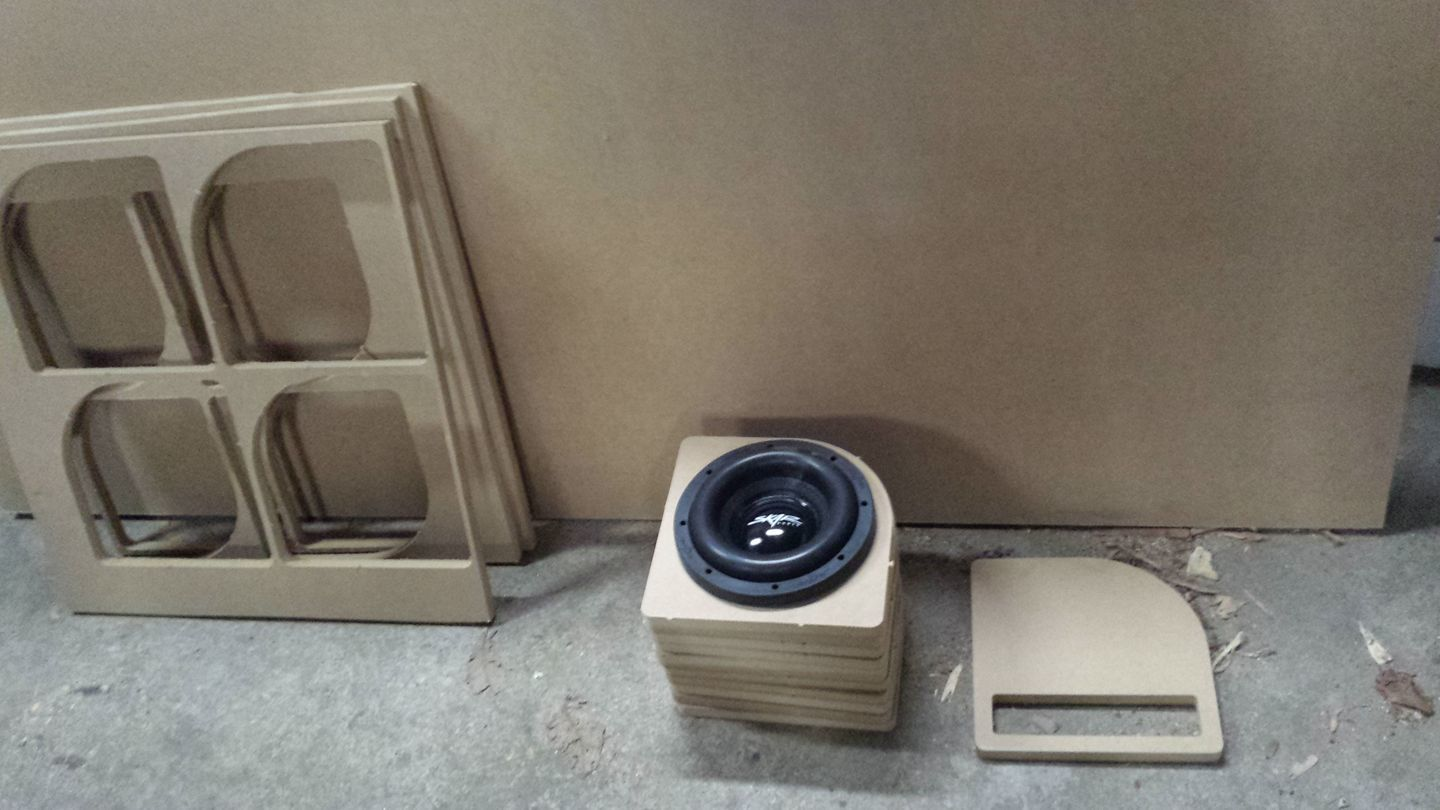 Subwoofer box - Projects - Inventables Community Forum