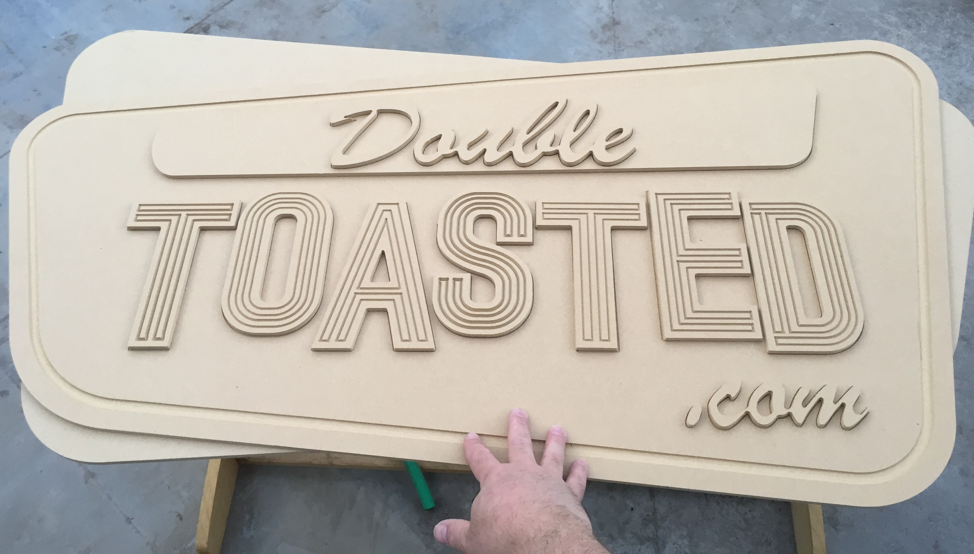 Mdf Signs Profile Cuts With Multiple Layers Projects