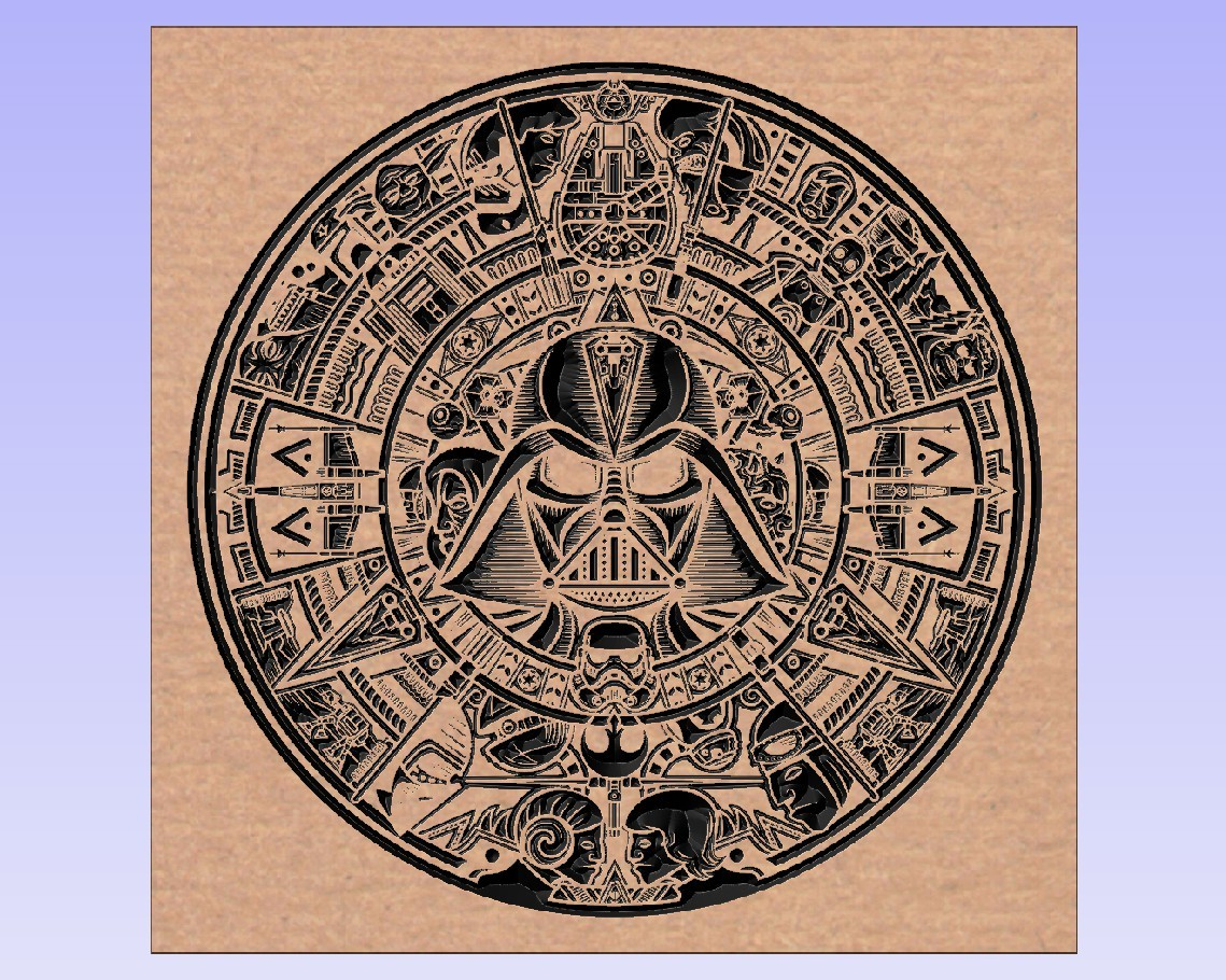 Aztec Star Wars Dial Projects Inventables Community Forum